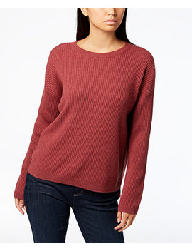 Scoop Neck Cashmere Sweater, Regular & Petite by Eileen Fisher