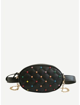 Quilted Bum Bag by Romwe