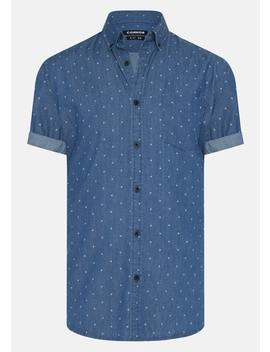 Denim Kayne Print Shirt by Connor