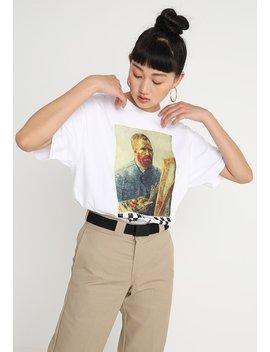 Van Gogh Oversized Tee   T Shirts Print by Vans