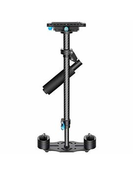 Neewer Carbon Fiber 24 Inches/60 Centimeters Handheld Stabilizer With 1/4 3/8 Inch Screw Quick Shoe Plate For Canon Nikon Sony And Other Dslr Camera Video Dv Up To 6.6 Pounds/3 Kilograms (Black) by Neewer