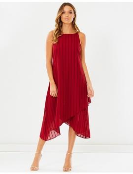Meredith Drape Dress by Calli