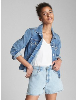Icon Denim Jacket With Patchwork Detail by Gap