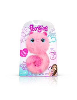 Pomsies Blossom Plush Interactive Toys, Pink by Pomsies