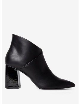 Black 'annie' Pointed Boots by Dorothy Perkins