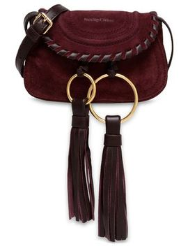 Polly Tasseled Suede Shoulder Bag by See By ChloÉ