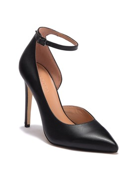 Margo Half D'orsay Leather Pump by Halston Heritage