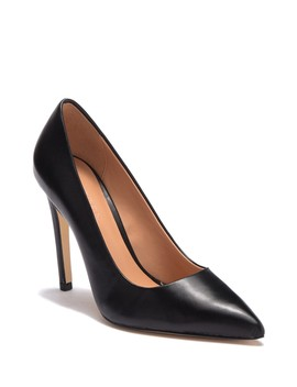 Teri Leather Stiletto Pump by Halston Heritage