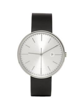 Black Rubber M40 Watch by Uniform Wares