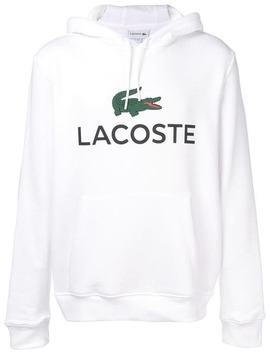 Logo Hoodie by Lacoste