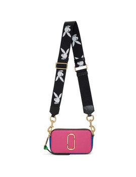 Pink & Blue Snapshot Bag by Marc Jacobs