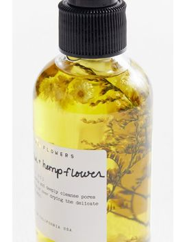 Among The Flowers Green Tea + Hemp Flower Cleansing Oil by Among The Flowers