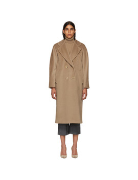 Tan Madame Coat by Max Mara
