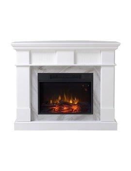 Homestar Genova Electric Fireplace & Reviews by Homestar