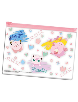 Pokemon Clear Pouch Cute Clefairy Jigglypuff Chansey Pocket Monster Jp Import by Pokemon