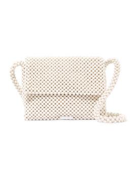 Roz Beaded Satin Shoulder Bag by Loeffler Randall