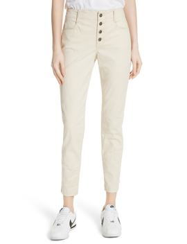 owen-lace-up-ankle-pants by alc