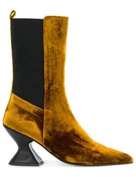 Hourglass Heel Boots by Marques'almeida