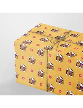 Luxury Wrapping Paper Sheets | A3 Gift Wrap | 29.7 X 42.0 Cm Sheets | Chicken Nuggets Love by Etsy