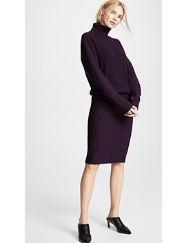 Relaxed Turtleneck Dress by Victoria Victoria Beckham