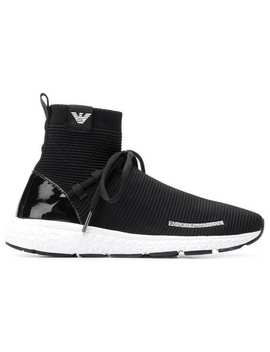 Sock Liner Sneakers by Emporio Armani