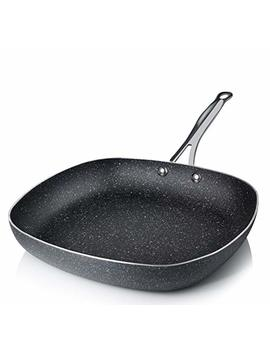 Graniterock Non Stick, No Warp, Mineral Enforced Pan Pfoa Free As Seen On Tv (9 Inch) by Graniterock