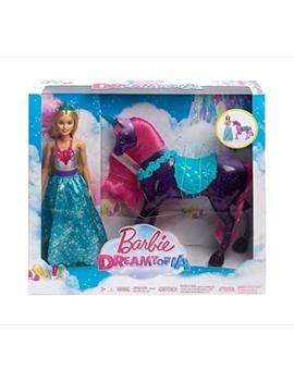 Barbie Dreamtopia Princess Doll And Purple Unicorn by Barbie