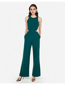 Cut Out Side Jumpsuit by Express