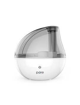 Pure Enrichment Mist Aire Silver Ultrasonic Cool Mist Humidifier   1.5 Liter Water Tank, Whisper Quiet Operation, Auto Safety Shut Off And Night Light Function   Lasts Up To... by Pure Enrichment