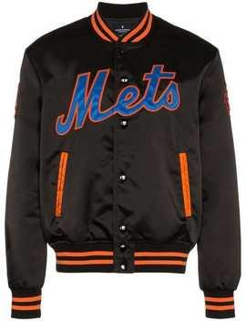 Ny Mets Varsity Jacket by Marcelo Burlon County Of Milan