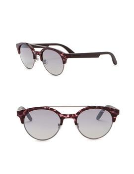 50mm Clubmaster Sunglasses by Carrera Eyewear