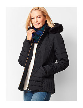 Down Puffer Jacket by Talbots