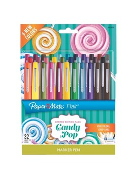 Paper Mate® Flair® Marker Pens Candy Pop, 32ct by Paper Mate