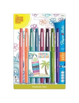 Paper Mate® Marker Pens, Medium Tip, 8ct   Multicolor Ink by Paper Mate