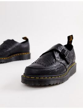 Dr Martens Ramsey Ii Creepers In Black by Dr Martens
