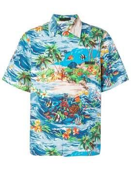 Paradise Print Shirt by Prada