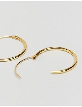 Pack De 3 Pendientes De Aro De Plata De Ley Chapados En Oro De Asos Design by Asos