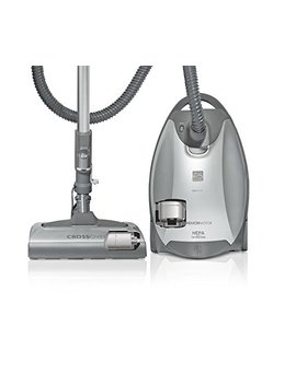 Kenmore Elite 21814 Pet & Allergy Friendly Cross Over Canister Vacuum In Silver/Gray by Kenmore