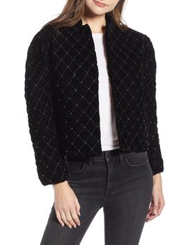 Quilted Velvet Jacket by Something Navy