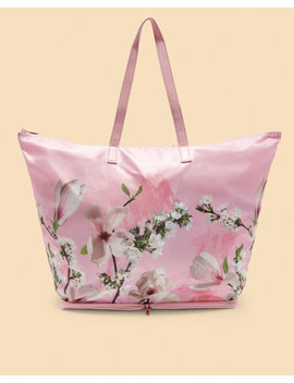 Harmony Nylon Foldaway Shopper Bag by Ted Baker
