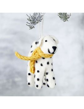 Felt City Ornaments by West Elm