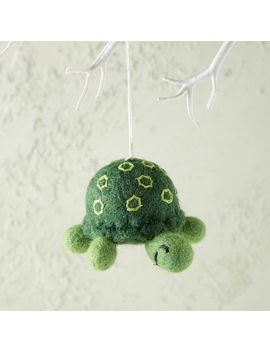 Felt Turtle Ornament by West Elm