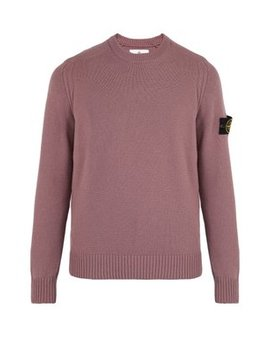 Knitted Crew Neck Sweatshirt by Stone Island
