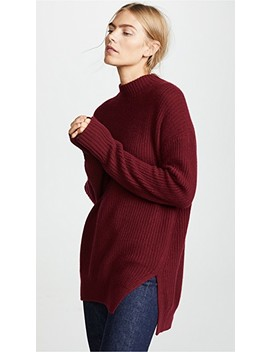 Mendel Cashmere Ribbed Pullover by Jenny Park