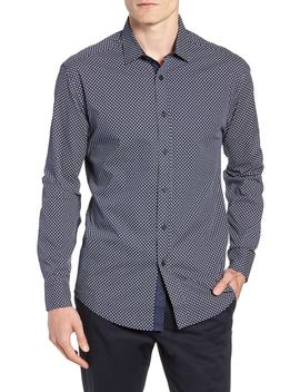 Regular Fit Geometric Dot Sport Shirt by Vince Camuto