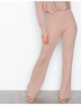 Lurex Knit Pants by Nly Trend