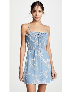 Marni Shirred Dress by Faithfull The Brand