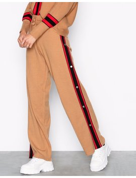 Popper Trousers by River Island