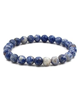 Bai Yun Poy Beaded Bracelets For Women, 8mm Handmade Charm Prayer Beads Natural Energy Mens Beads Bracelet Healing Bangle by Bai Yun Poy