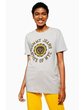 Crest Logo T Shirt By Tommy Jeans by Topshop